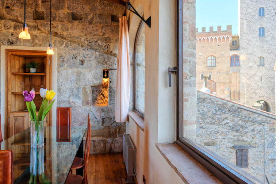 Interior design photography - San Gimignano