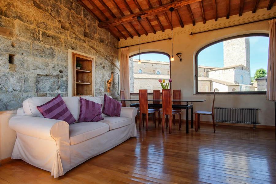 Appartamento privato in San Gimignano